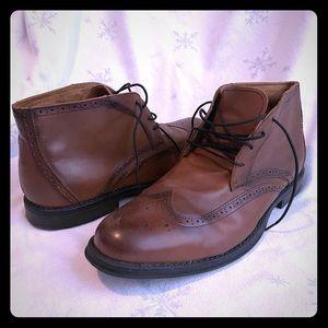 Nunn Bush Wingtip Chukka Boots